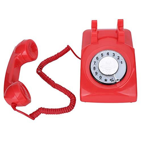 Weikeya Teléfono con cable, Fsk/dtmf sistema de contestación ABS para el dormitorio casero de la oficina