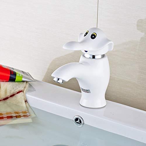 TAOZIAA dek gemonteerd olifant wit schilderij badkamer wastafel wastafel mixer kraan