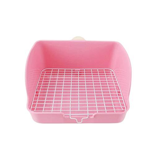 POPETPOP Töpfchen für Kaninchen, Haustiere, Sprayproof für Hunde, Katzen, Kaninchen, Kaninchen und Meerschweinchen