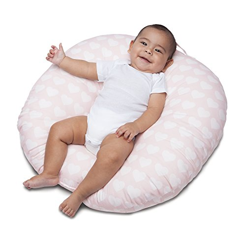 Boppy Original Newborn Lounger, Pink Hearts