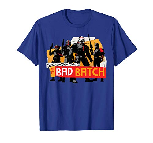 Star Wars Bad Batch Camiseta