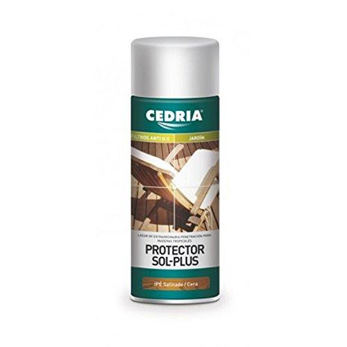 Protector de la madera en spray Cedria combina lo mejor del Lasur...