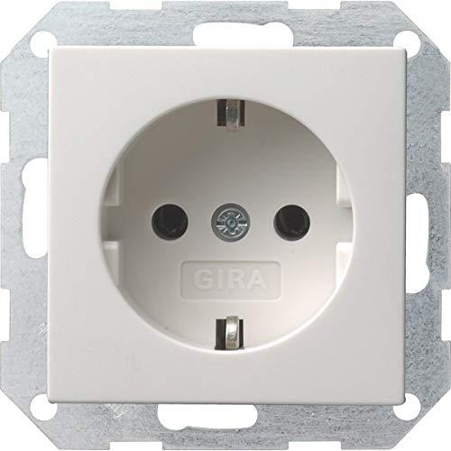 GIRA System 55 Reinweiß glänzend (018803 Steckdose, 1 Stück)