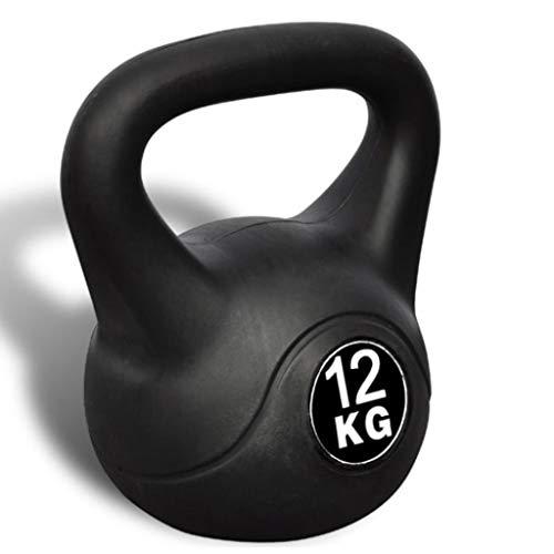 Nishore Pesa Rusa 12 Kg para Fisicoculturismo Musculación Fitness Ejercicio y Entrenamiento con Pesas, Adecuado Uso al Aire Libre 22,5 x 22,5 x 32 cm