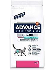 ADVANCE Veterinary Diets Urinary Low Calorie - Pienso para Gatos con Problemas Urinarios- 2,5kg
