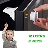 Magnetic Baby Proofing, Besthome Childproof Cabinet Locks Child Safety Latch Magnetic Cabinet Locks