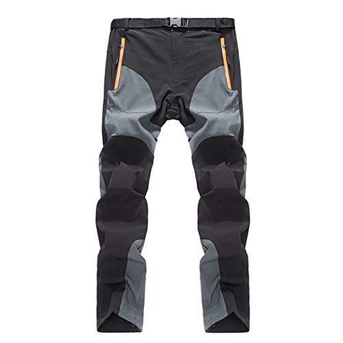 SHOULIEER Men'S Summer Quick Dry Pants Outdoor Sports Breathable Hiking Camping Trekking Trousers Camping Pants 2 M