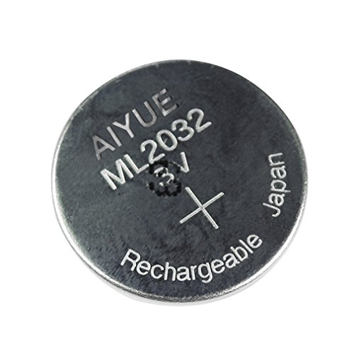 ML2032 Rechargeable Battery Replacement for Logitech K750 Keyboard