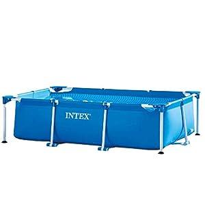 immagine di Intex 28271 Rettangolare Cm 260X160X65 Piscina Gioco Estivo Estate Giocattolo 758, 2300 Litri, 260 x 160 x 65 cm, Blu