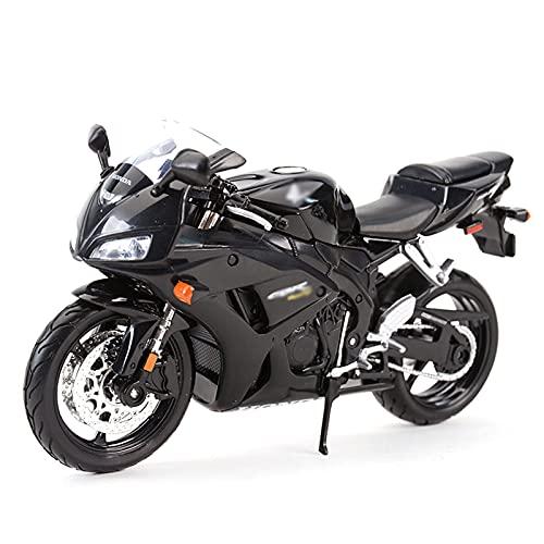 Compatible con modelo original motocicleta aleación estática simulación simulación fundición de Honda Heavy Motorcycle Road Race, adecuado para recolección / juego / adornos de decoración del hogar