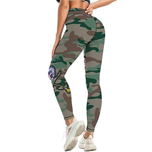 Topkeal - Leggings para mujer, cintura alta, push-up, pantalones de yoga, pantalones de entrenamiento, pantalones largos para yoga, gimnasio, deporte, fitness, control de la barriga rojo XL