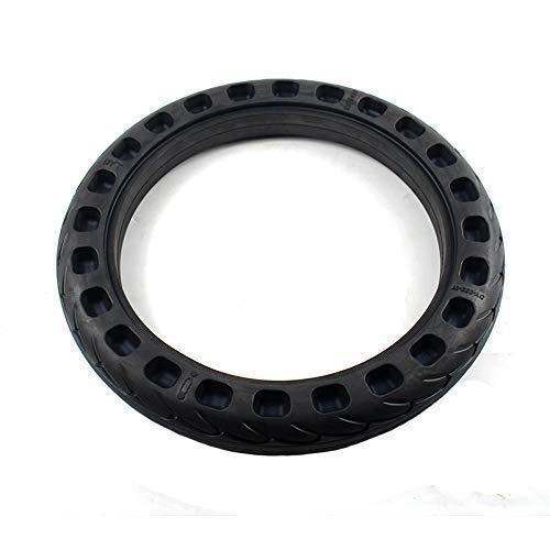 Neumáticos amortiguadores para Scooters eléctricos 14x1,75 Neumático sólido con Orificio de Panal Negro 14 Pulgadas para Coche eléctrico Neumático sólido 14x1,75