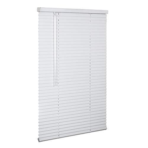 LOTUS & WINDOWARE Cordless 1' Aluminum Blind 36' x 84', White