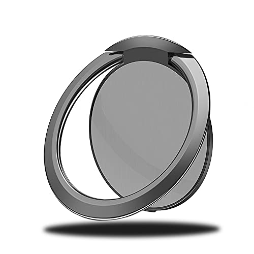 Aloces Anillo para teléfono móvil, soporte giratorio 360°, soporte para teléfono móvil, soporte de anillo selfie para iPhone, Samsung, Pad, Huawei P20 Pro, teléfonos móviles y tabletas