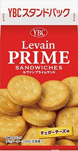 ヤマザキビスケット ルヴァンプライムサンドチェダーチーズ 18枚×10袋