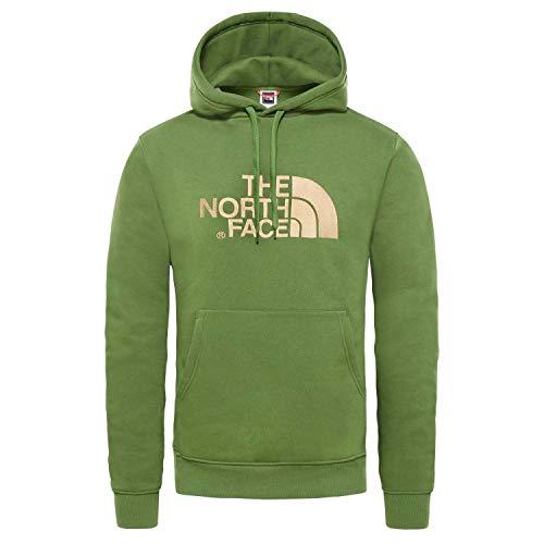 The North Face M Drew Peak Pullover Hoodie - EU Garden Green Hoodie Homme Garden Green FR : XL (Taille Fabricant : XL)