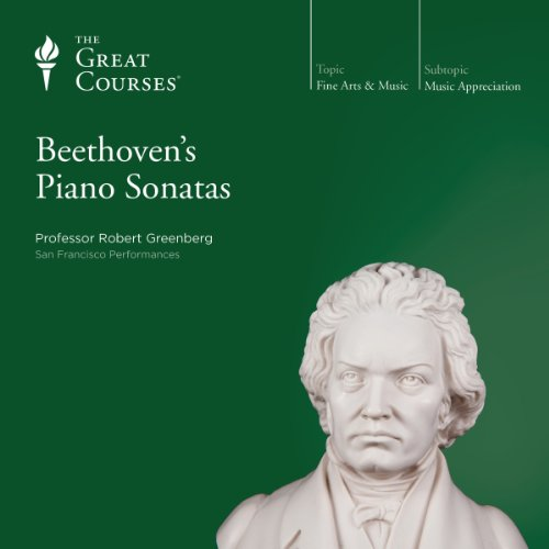 Beethoven's Piano Sonatas audiobook cover art
