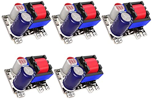 TECNOIOT 5 pieces AC-DC 9V 450mA switching power supply with low ripple