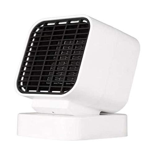 Calentador de espacio portátil interior, ventilador eléctrico personal de cerámica PTC, calefacción silenciosa y calefacción rápida, sobrecalentamiento y protección de desktop for el hogar de la ofici
