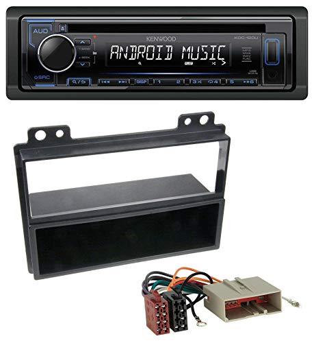 caraudio24 Kenwood KDC-110UB 1DIN MP3 USB CD AUX Autoradio für Ford Fiesta, Fusion (2002-2005)
