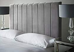 * DIMENSIONS: This Perfect Headboard for Furniture bedroom comes with plush velvet, Available in different Sizes. It looks very attractive and elegant to the viewers * SIMPLE ASSEMBLING: It is very simple and effortless to assemble this amazing headb...