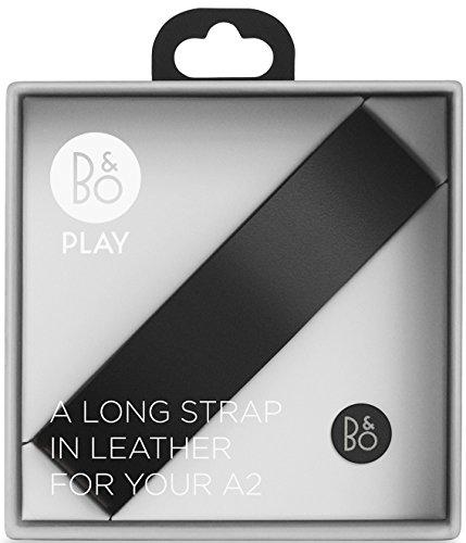 Bang & Olufsen Long Leather Strap Lederriemen (geeignet für BeoPlay A2) schwarz