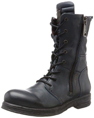 Replay Mädchen Evy Biker Boots, Blau (Blue), 35 EU