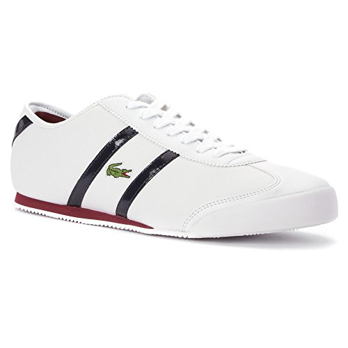[ラコステ] Tourelleファッションスニーカー靴–メンズ US サイズ: 11 カラー: ホワイト