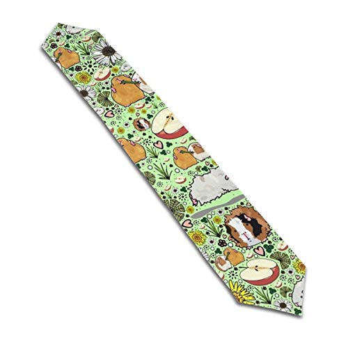 N/D Guinea Pigs and Flowers Suitable for Family Gatherings, Special Occasions, barbecues, picnics and Daily use, Polyester, Machine Washable, Table Runner