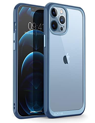 SUPCASE Funda iPhone 13 Pro MAX 2021 6.7 Pulgadas [Unicorn Beetle Style] Delgado Resistente Case Premium Protectora Transparente - Azul