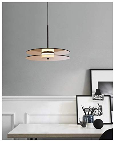 Kroonluchter, Scandinavisch creatief hanglampje licht kamer restaurant bar koffietafel gepersonaliseerde record plafondverlichting creatieve glas opknoping licht (Style : stijl2)