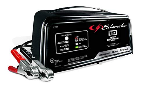 Schumacher SC1305 12V Fully Automatic Battery Charger and 10/50A...