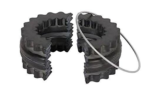 Lovejoy 36419 Size 8E 2-Piece Design S-Flex Coupling Sleeve, EPDM Rubber, 5.06