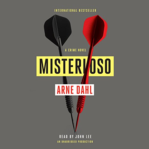 Misterioso audiobook cover art