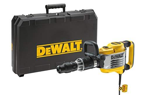 DEWALT D25902K-QS - Martillo demoledor SDS Max 1550W, 19 Julios, incluye cincel y maletín