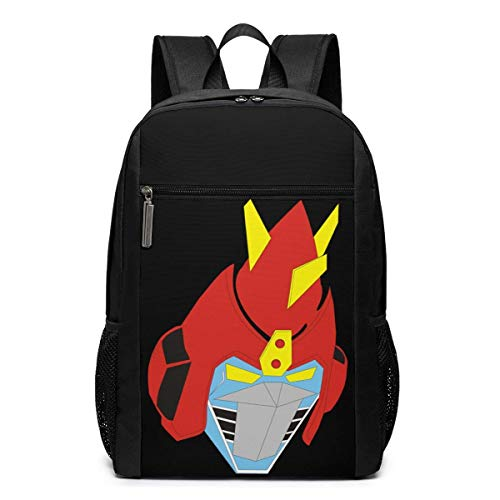 Lawenp Voltes V - CHdenji Machine Desire Backpack 17 Inch Laptop Bags College School Backpack Casual Daypack for Travel