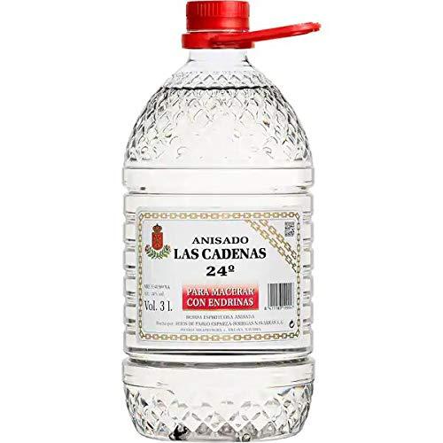 Anis Las Cadenas Para Pacharán 24% Bidón Plástico 3 Litros