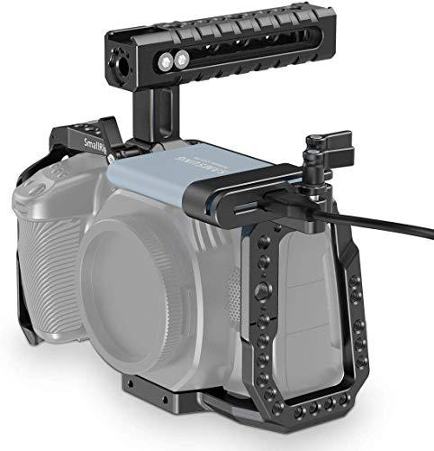 SMALLRIG Camera Cage Kit für Blackmagic Design Pocket Cinema Camera 4K und 6K, kompatibel mit BMPCC 4K und 6K - KCVB2419