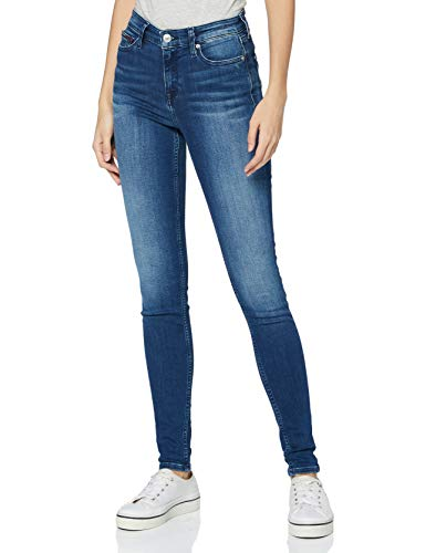 Tommy Hilfiger Damen Nora MR SKNY NNMBS Jeans, New Niceville Mid Blue Stretch, W28 / L32