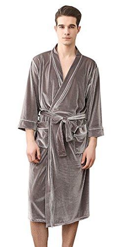 SUIMO - Kimono Albornoz para Mujer Hombre de Baño Ducha con