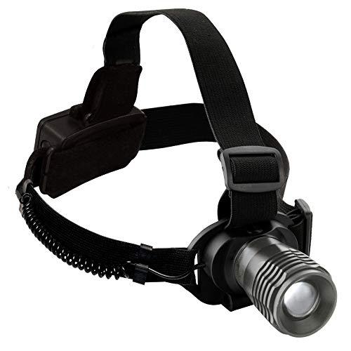 KRAFTWERK 32061 - Linterna frontal LED con zoom