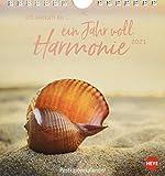 Ich wünsch' dir … ein Jahr voll Harmonie Postkartenkalender 2021 - Kalender mit perforierten Postkarten - zum Aufstellen und Aufhängen - mit Monatskalendarium - Format 16 x 17 cm