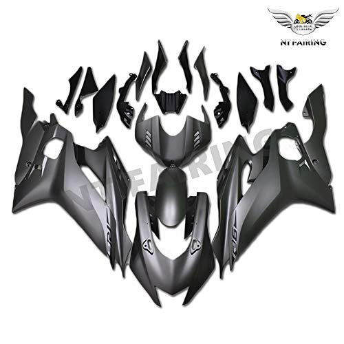 NT FAIRING Matte Grey Injection Mold Fairing Fit for Yamaha 2017 2018 2019 YZF R6 New Painted Kit ABS Plastic Motorcycle Bodywork Aftermarket