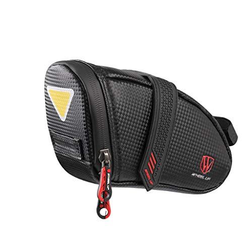 Akabsh Saddle Bag/Seat Bag/Cycling Bag, Bike Seat Bag Waterproof Bicycle Saddle Bag Under SeatCycling Seat Pack Cycling Under Seat Pouch for Cycling Accessories