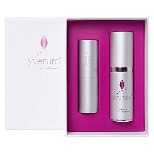 Yverum - Augen- & Lippenpflege Geschenkset