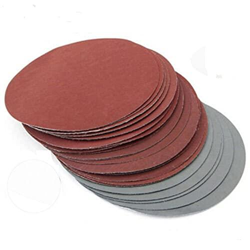 30 Pcs Set Sander Sanding Disc Set Sandpaper 150mm 600-3000 Grit Abrasive Wet Dry Polishing Round Sandpaper Disk Sand Sheet