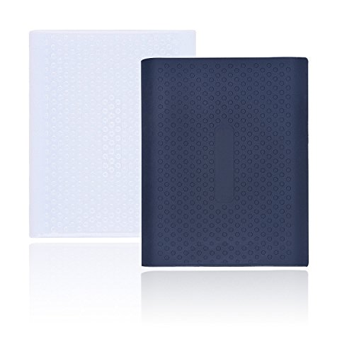 Larcenciel Custodia protettiva antiurto per Samsung T5/T3/T1 SSD, 2 pz Custodia da viaggio in silicone per Samsung T5/T3/T1 Unità a stato solido esterna portatile(250G/500G/1T/2T)