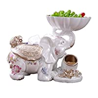 piatti, ciotole e vassoi ciotola di frutta ciotola di frutta cesto di frutta famiglia ciotola di frutta tavolino scatola di fazzoletti di elefante piatto di frutta secca decorazione portico piatto da