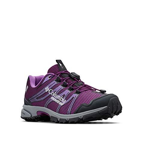 Columbia Montrail Women's Mountain Masochist IV Outdry Sneaker, Wild iris/Crown Jewel, 9 Regular US