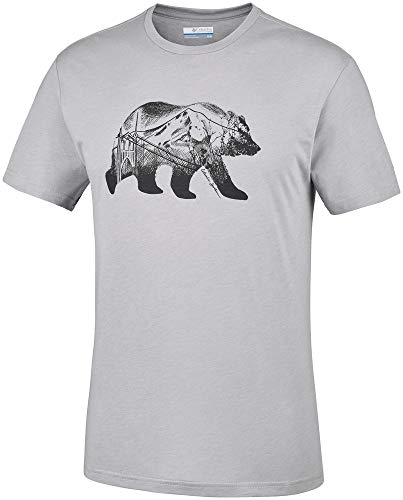 Columbia Baker Brook T-Shirt pour Homme S Gris Columbia.